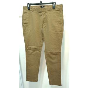 H&M Men Slim Fit Khakis 33R
